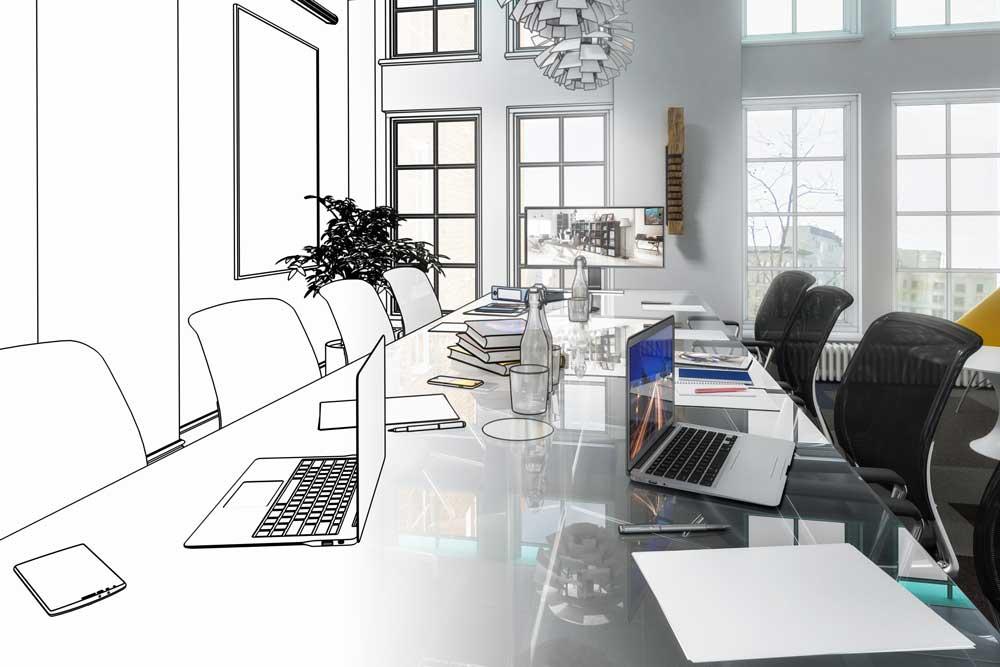 Interieur ontwerp SKO Projectinrichting